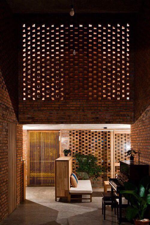 砖的艺术,看看如何把砖赋予艺术性的用在建筑上?_5