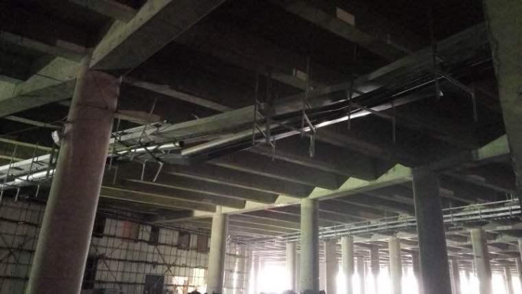 某地铁项目发生支吊架垮塌事故