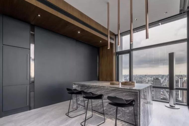 室内设计 130㎡的单身公寓,设计感十足_20