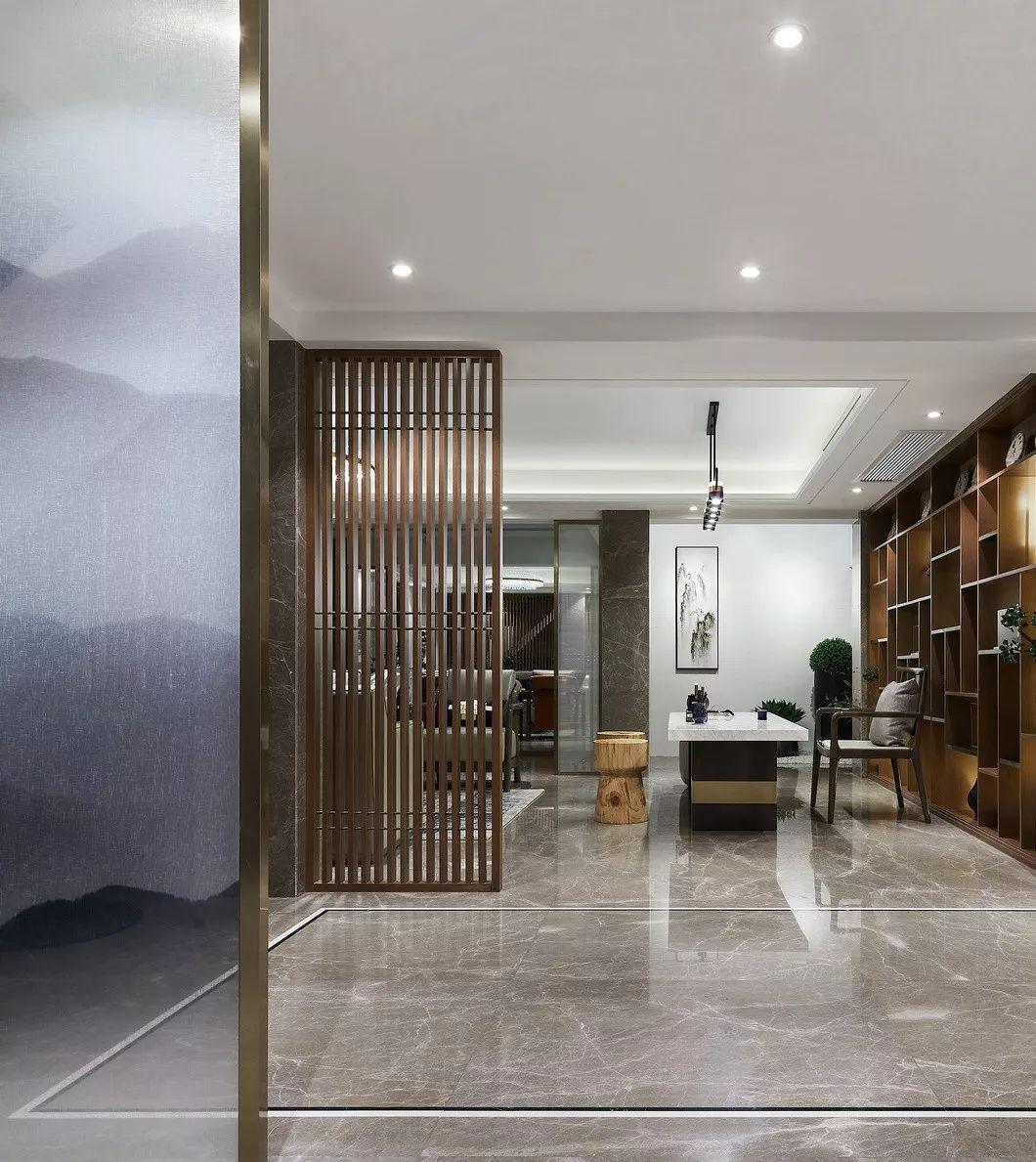 273㎡新中式别墅,竟然可以这么美!_31