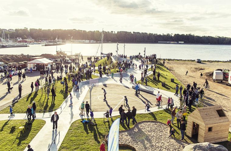 丹麦Lemvig滑板公园