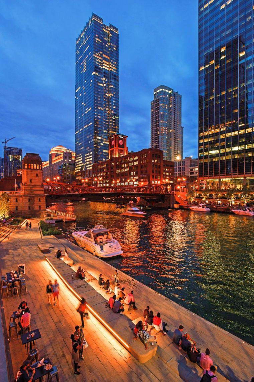 芝加哥滨河大道景观设计