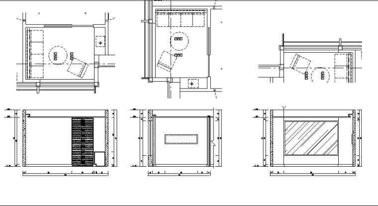 北京MOMa办公室设计施工图