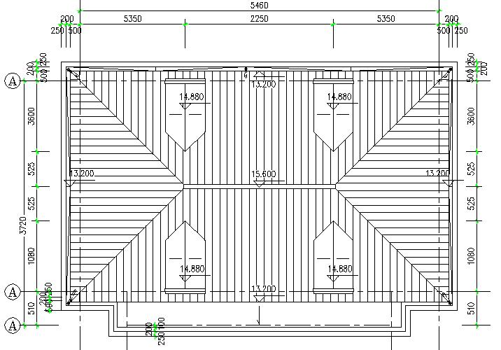 异形柱整套框架结构施工图(CAD,14张)_5