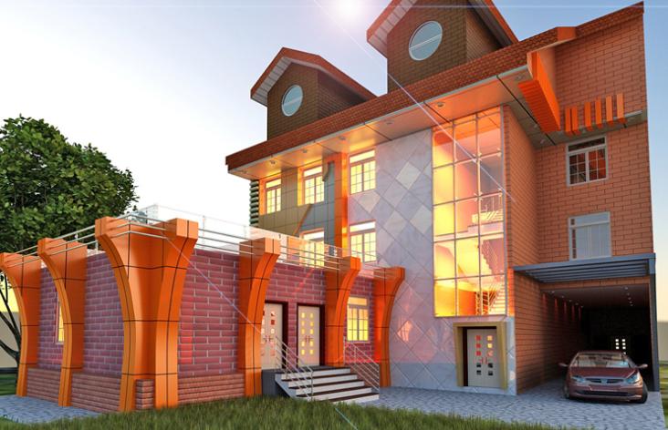 BIM模型-revit模型-旅館酒店模型
