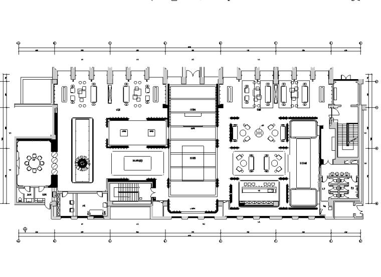 [陕西]翡翠长安售楼空间设计施工图(附效果图+照明概念设计)