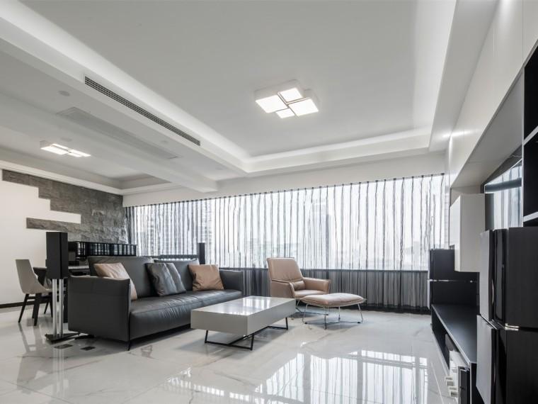 广州现代简约的居住空间