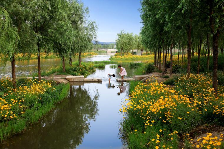 迁安三里河绿道景观(唐山)