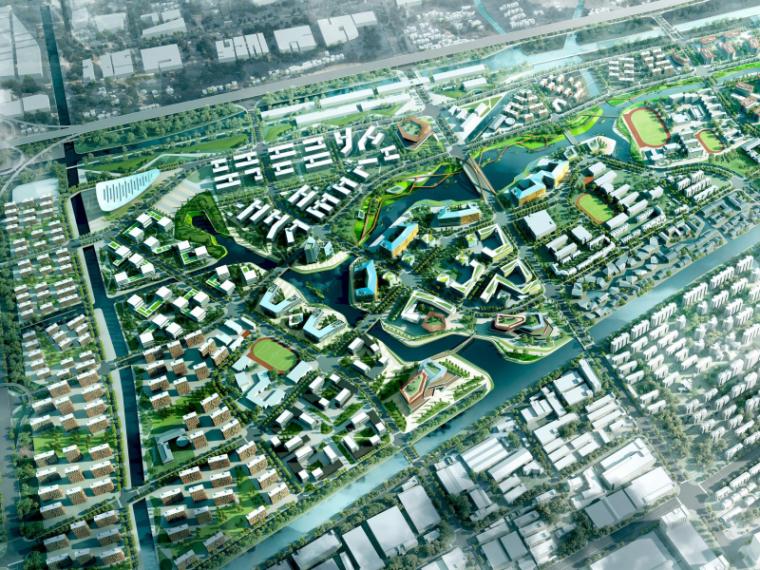 [杭州]梦想小镇概念性总体规划