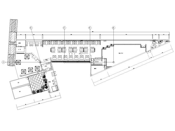 [四川]某混搭风格面馆室内装修全套施工图