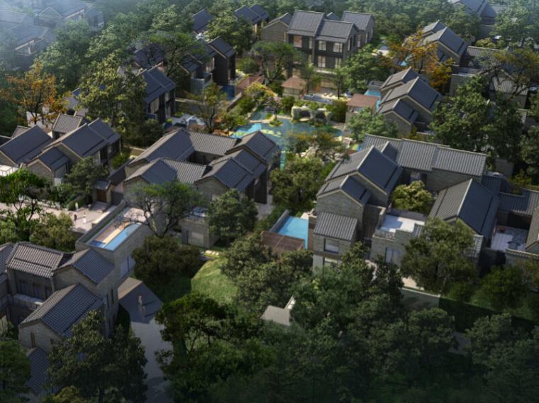 [陕西]西安院子二期样板区景观规划设计方案(新中式,五大元素)
