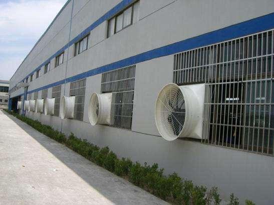 夏季炎热|钢结构厂房怎么降温。