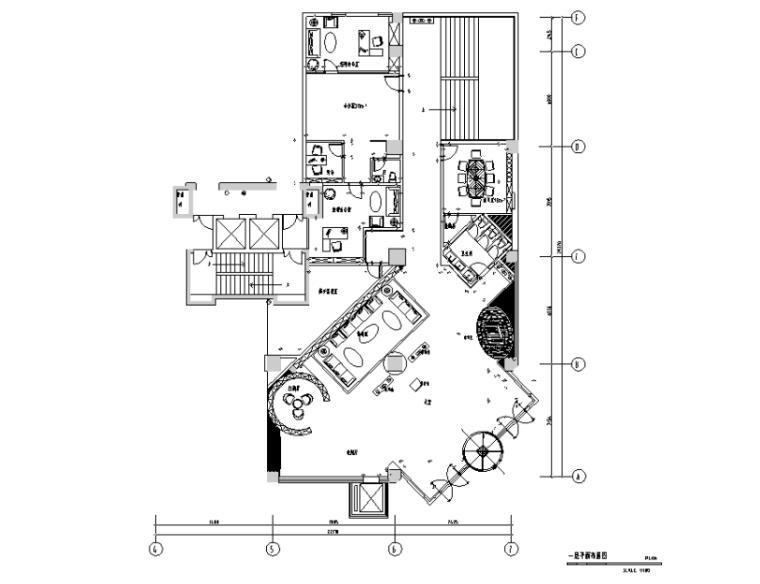 金莎国际KTV设计施工图(附效果图)