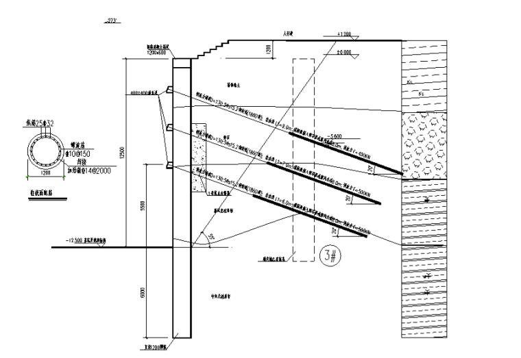 建筑边坡工程专题研讨及案例分析(175页,ppt)-边坡侧压力及滑坡推力的方向——抗滑桩及桩锚体系1