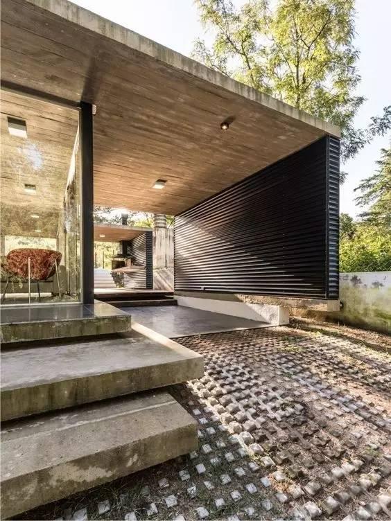 超有设计感的建筑入口_33
