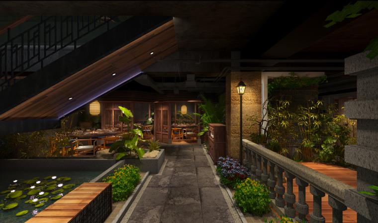 许昌群英会主题餐厅设计_11