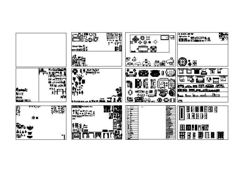 CAD图集