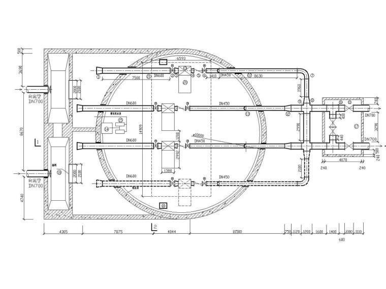 [江苏]金湖县给水工程扩大初步设计经典全套图纸(含毕业设计说明书)