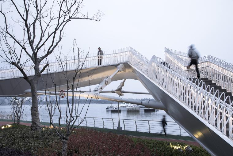 上海日晖港步行桥-5