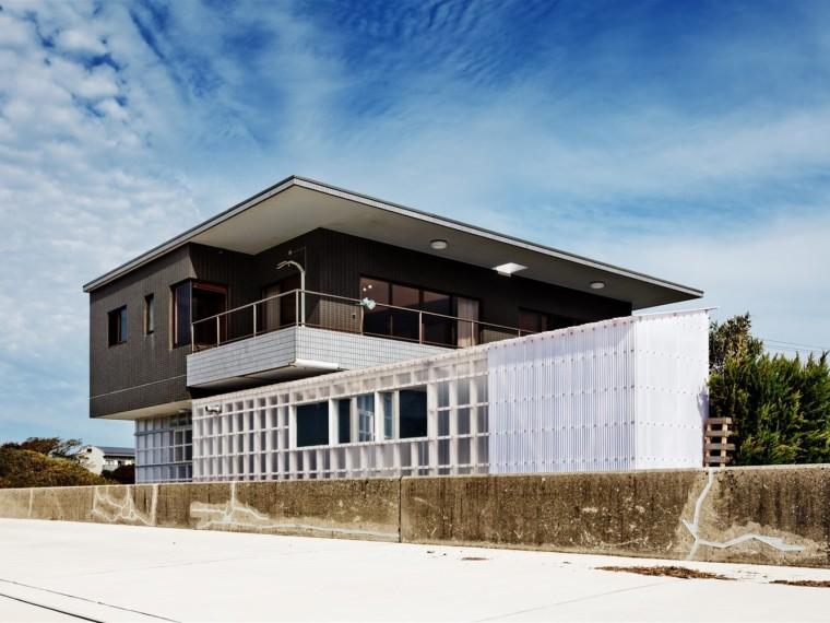日本海边别墅改造