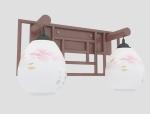 双头壁灯3D模型下载