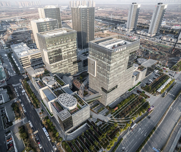 南京研创园孵鹰创业建筑群-2