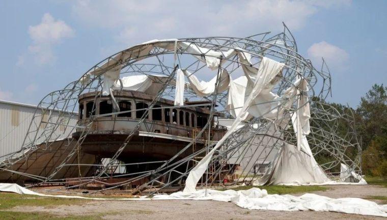 建筑结构丨看轻钢结构如何抵御台风的袭击