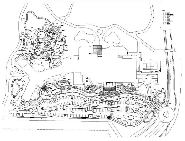 [广东]某雍景园小区景观施工图设计全套(包含CAD+120个文件)