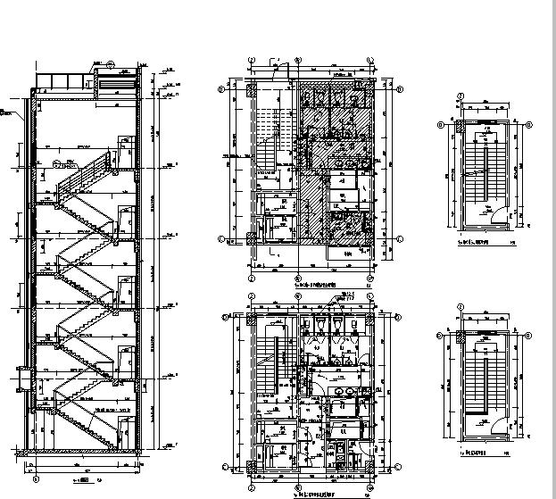 [上海]10个子项目商务办公项目施工图(全专业图纸)_11