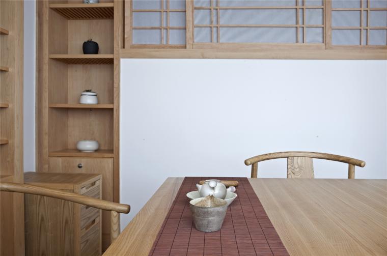 简单自然的中式风格住宅室内实景图 (16)