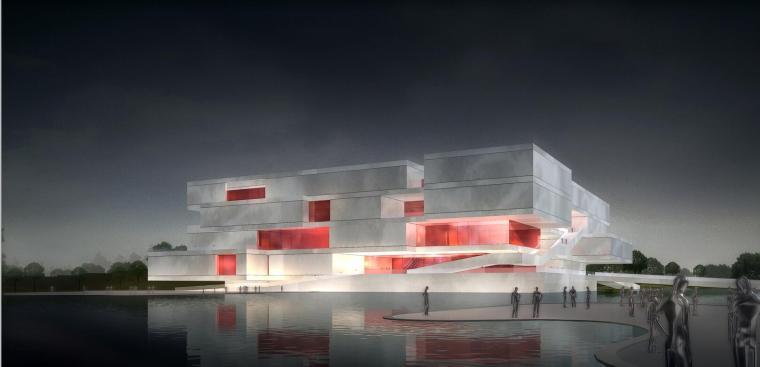 云博博物馆建筑方案文本设计(文本+PPT)