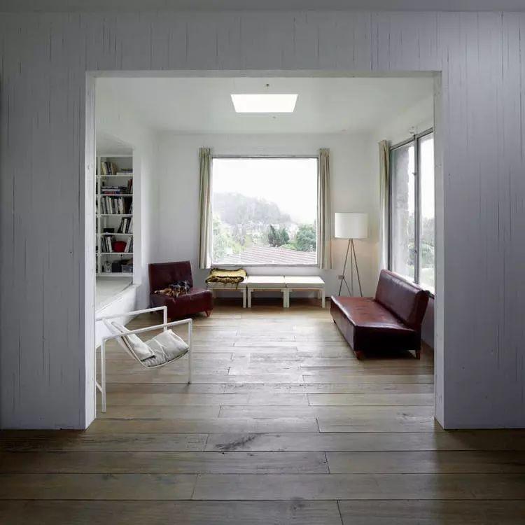 这个智利建筑事务所设计房子,几乎像是一场方形、圆形或其他元素_9