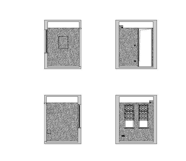 安徽.芜湖圣地雅歌M1户型样板房装饰设计施工图