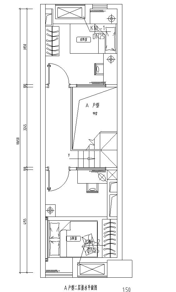 福建某公寓一期给排水施工图
