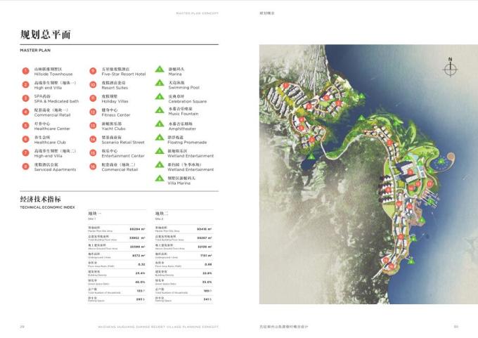 [山东]隐于山林,五征湖光山色旅游度假区规划概念