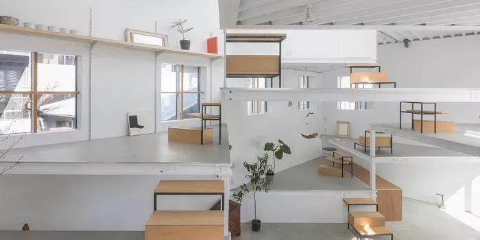 无遮挡非传统居住方式:大阪宮本町住宅