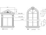 欧式门窗、线脚、欧式柱、欧式栏杆节点详图