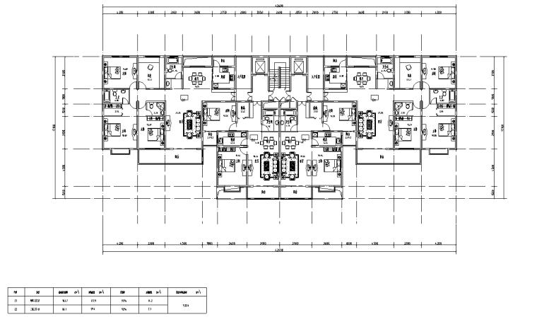 [浙江]杭州嘉兴住宅项目施工图及SU模型
