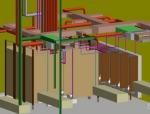 基于BIM技术的地铁车站管线综合安装碰撞分析研究