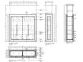 [江苏]某法式餐厅室内设计施工图及效果图