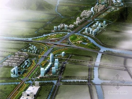 [浙江]滨水生态城市道路景观规划设计方案
