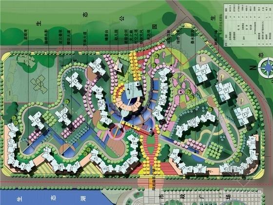 [重庆]自然生态高档居住区规划设计方案