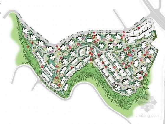"""[重庆]""""韵""""特色风格自然山水人文居住区景观规划设计方案"""