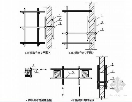 [湖南]高层框剪结构住宅楼悬挑脚手架方案