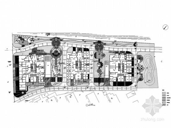 [浙江]都市风华高档居住区景观环境设计全套施工图
