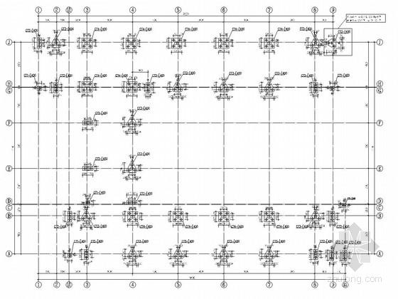 [广州]地上五层框架结构教学楼结构施工图