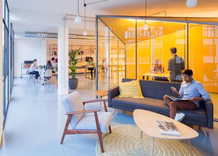 建筑师给自己设计的办公室,什么样的都有_10