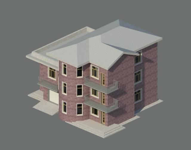 Revit项目模型35例(纯纯的干货)_4