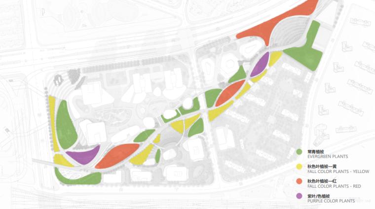 [上海]南站绿轴景观方案设计(现代风格)A-8色彩主题