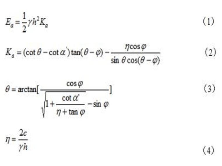 边坡抗变形支护结构岩土荷载实用计算方法探讨